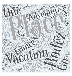 Ultimate adventure vacation in france word cloud vector