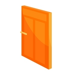 House door icon cartoon style vector image