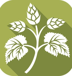 Beer Hop Icon vector image