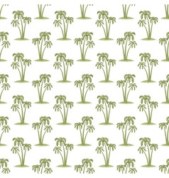 Palms pattern vector