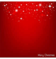 Red christmas wallpaper for christmas card vector