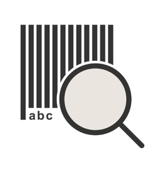 Find Code vector image vector image