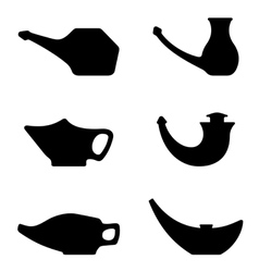 Neti pots vector image vector image