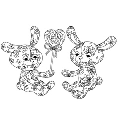 toy for coloring book vector image