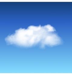 lonley cloud vector image
