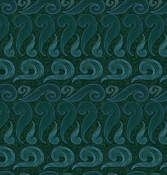 Waves background vector
