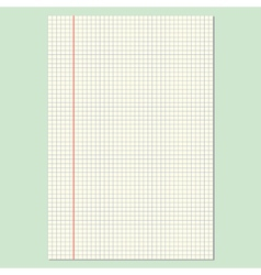 Checkered Sheet vector image