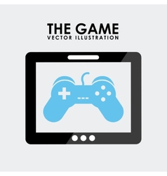 gamer icon vector image vector image
