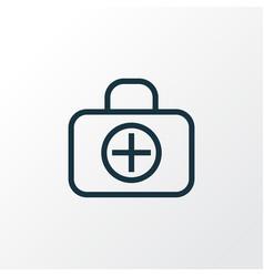 Medical case outline symbol premium quality vector