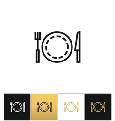 Food or luncheon icon vector image vector image