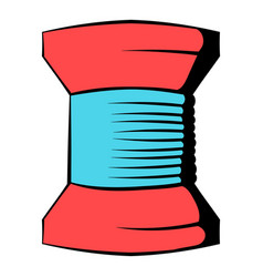 Spool of thread icon icon cartoon vector