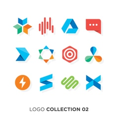 Logo collection 02 vector