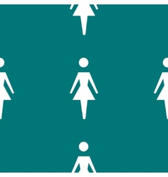 Woman restroom web icon flat design seamless vector