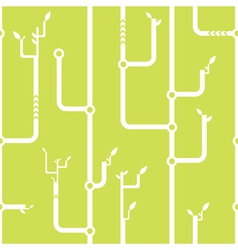 Thickets of wires seamless pattern vector