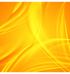 Vibrant wavy abstraction vector image
