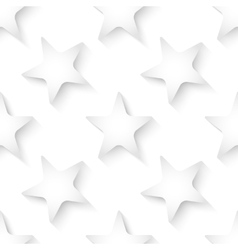Abstract white 3d seamless background with vector