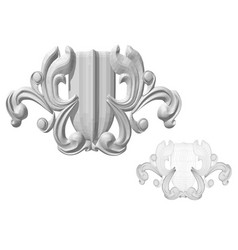 Carved decor 7 vector