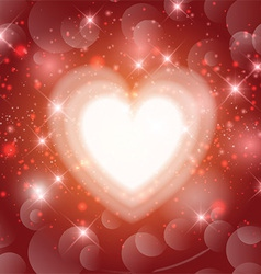 Valentines heart background 1612 vector