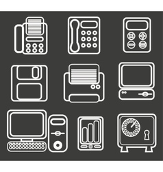 Office icon vector