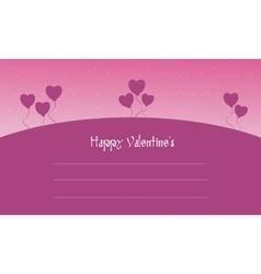Happy Valentine cards collection stock vector image vector image