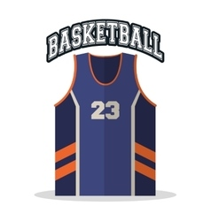 Tshirt of basketball sport design vector