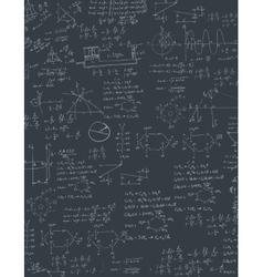Algebra formula vector image