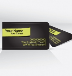 business card templates vector image vector image