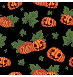 seamless Halloween vector image