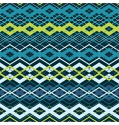Cross zigzag seamless pattern vector