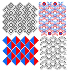 Geometric ornament pack vector