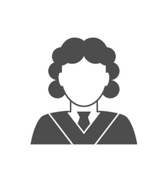 Judge avatar icon vector