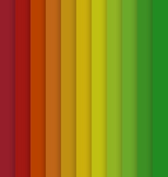 Vertical Red Yellow Green Colorful Striped vector image