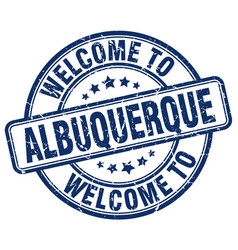 Welcome to albuquerque vector