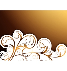 Floral Decorative Border vector image