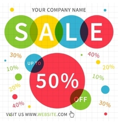 square web banner vector image vector image