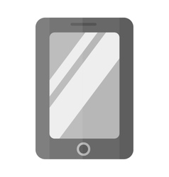 Tablet computer smartphone isolated vector