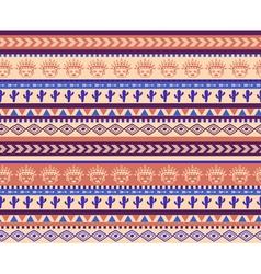 warrior pattern vector image vector image