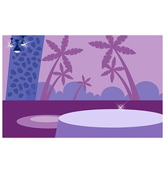 Elegant Restaurant Background vector image