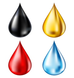 Drop set vector image