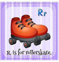 Rollerskate vector image