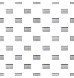 Heating battery pattern vector