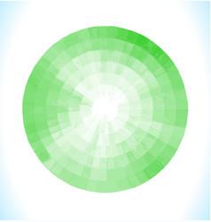 Green watercolor design element vector