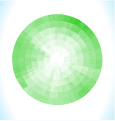 green watercolor design element vector image vector image