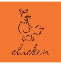 Logo of chicken vector