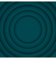 Concentric turquoise 6 circle background vector