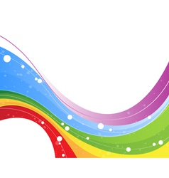 Multicolor abstract background vector