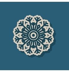 Snowflake concept design vector