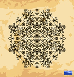 Background with lace ornaments vector