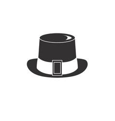 Hat for gentelmen style vector