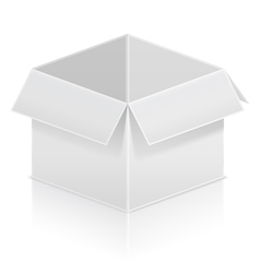 Paper Box vector image vector image